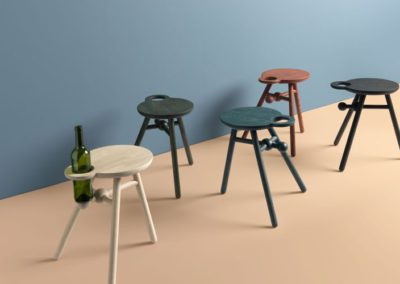 Pode - Model: Bottle Stool
